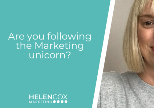 Are you following the Marketing unicorn?