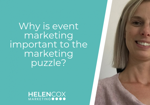 why is event marketing important to the marketing puzzle