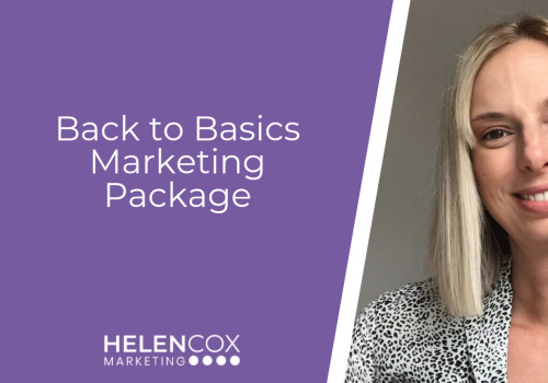 Back to Basics Marketing Package