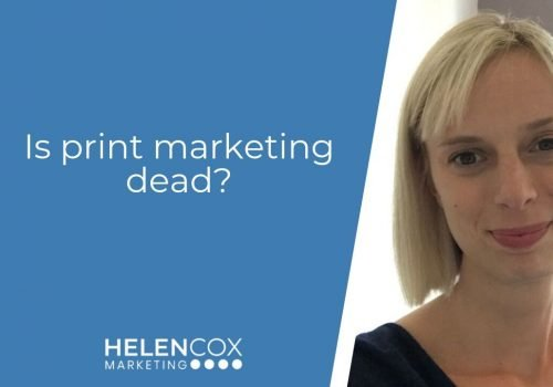 Is print marketing dead?