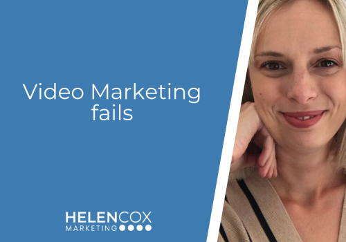 Video marketing fails