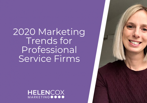 2020 Marketing Trends for Professional Service Firms