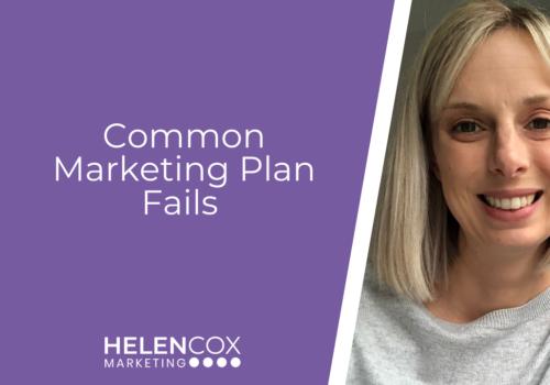 Common Marketing Plan Fails