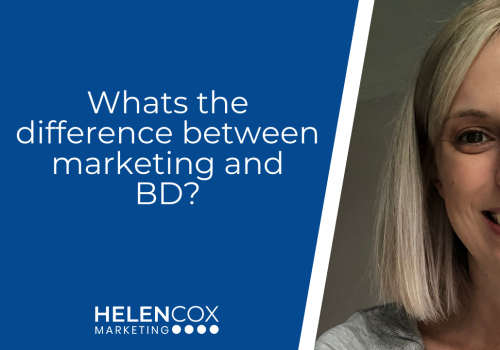 Whats the difference between marketing and BD