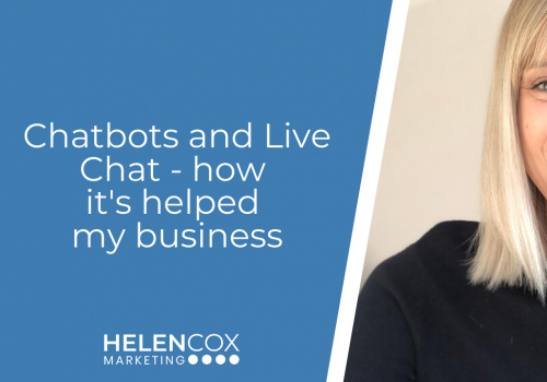 Chatbots and Live Chat - how it's helped my business