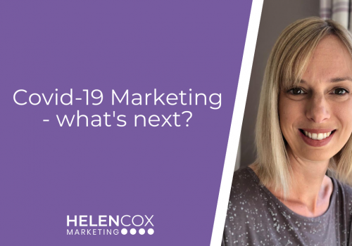 Covid-19 Marketing - what's next?