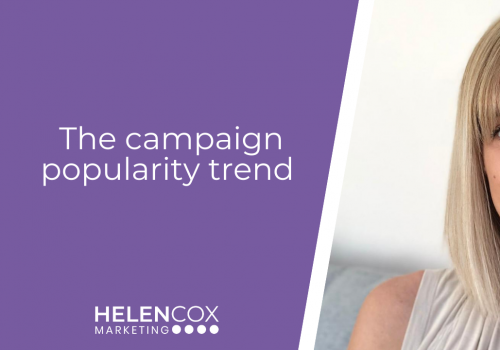 The campaign popularity trend
