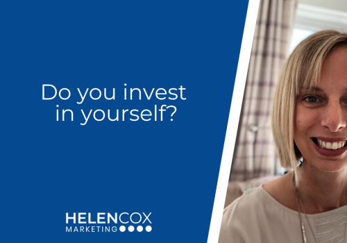 Do you invest in yourself?