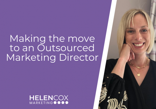 Making the move to an Outsourced Marketing Director